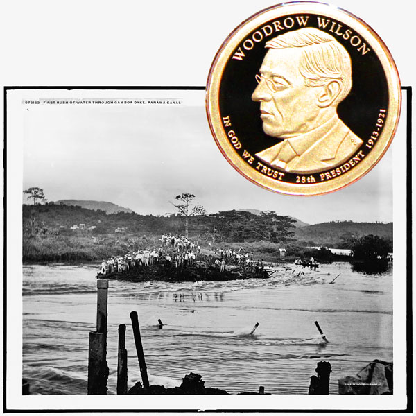 Woodrow Wilson Presidential One Dollar Coin