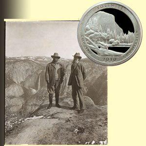 Yosemite America the Beautiful Quarter Coin