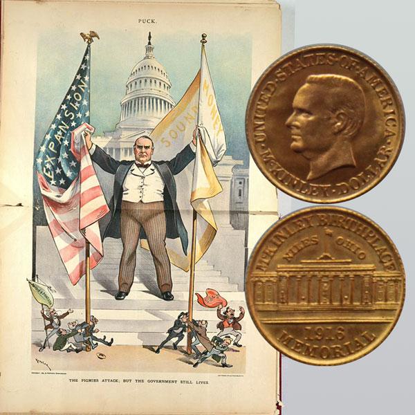 McKinley Commemorative Gold Dollar Coin