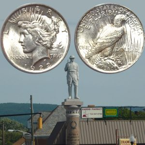 Peace Silver Dollar Coin