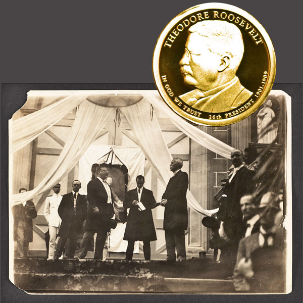 Theodore Roosevelt Presidential One Dollar Coin