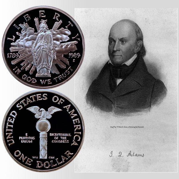 Congress Commemorative Silver Dollar Coin