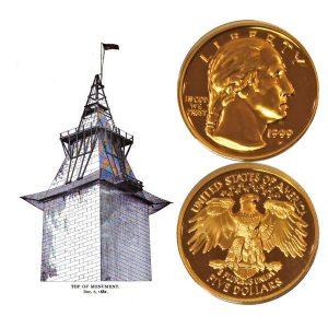 George Washington Commemorative Gold Five-Dollar Coin