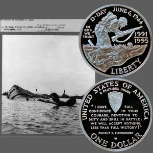 World War II Commemorative Silver Dollar Coin