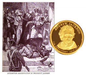 Andrew Jackson Presidential One Dollar Coin