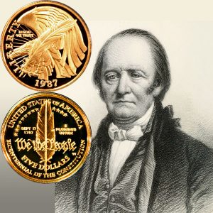 Constitution Commemorative Gold Five-Dollar Coin