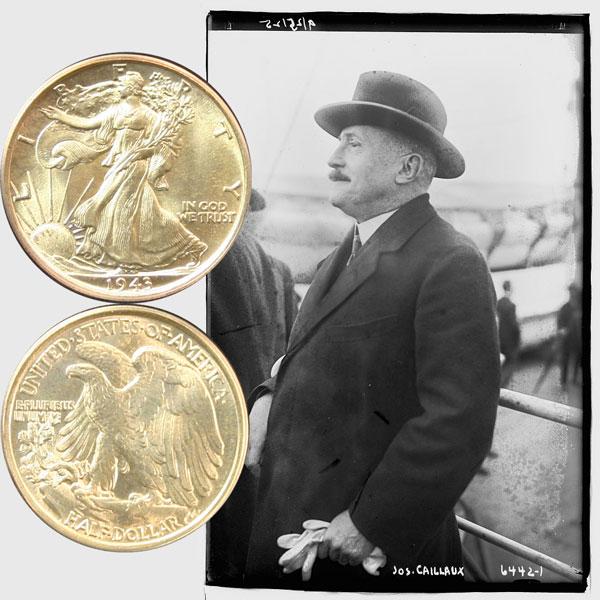 Walking Liberty Silver Half Dollar Coin