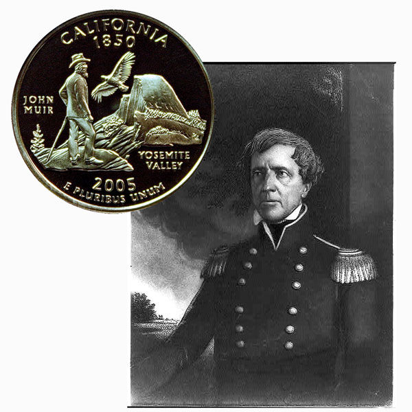 California State Quarter Coin