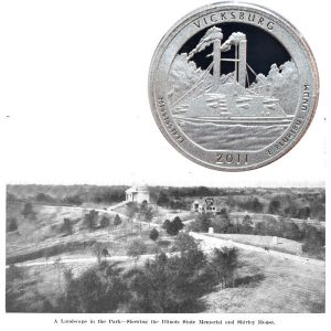 Vicksburg National Military Park Quarter Coin