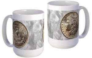 Morgan Silver Dollar large mug