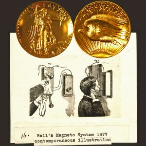 Ultra High Relief Gold Coin