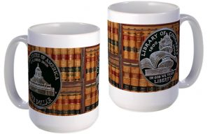 Library of Congress large mug