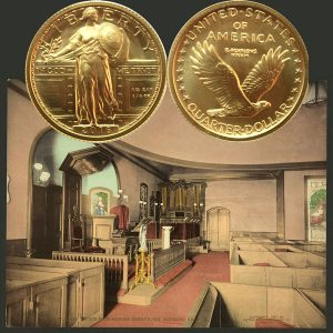 Standing Liberty Gold Quarter Coin