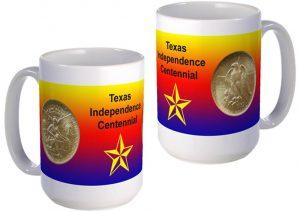 Texas Centennial large mug