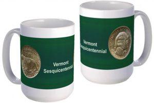 Vermont Classic half dollar large mug