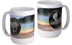 Yellowstone large mug
