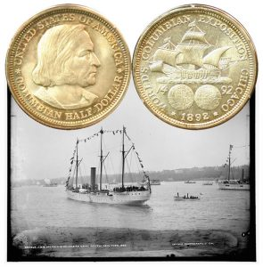 World's Columbian Commemorative Silver Half Dollar Coin