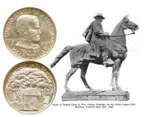 Grant Commemorative Silver Half Dollar Coin