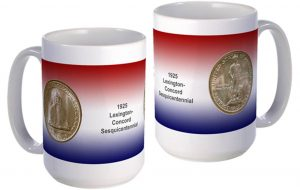 Lexington-Concord large mug