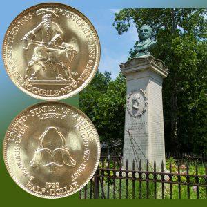 New Rochelle Commemorative Silver Half Dollar Coin