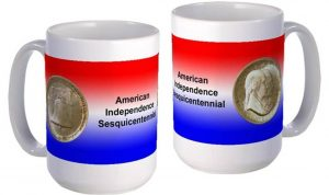 Sesquicentennial of American Independence large mug