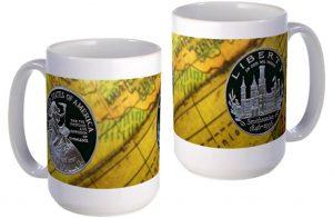 Smithsonian dollar large mug