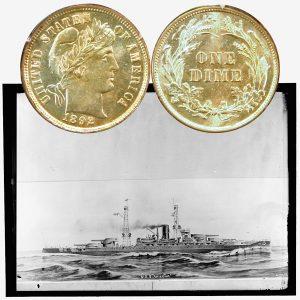 Liberty Head Silver Dime Coin