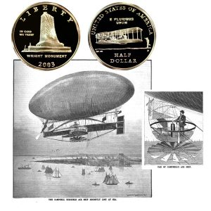 First Flight Commemorative Half Dollar Coin