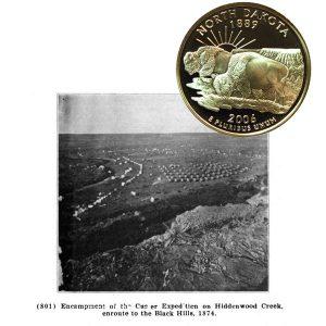 North Dakota State Quarter Coin
