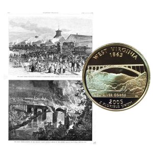 West Virginia State Quarter Coin