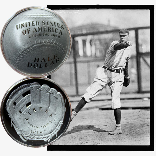 Baseball Commemorative Half Dollar Coin