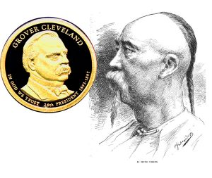 Cleveland Presidential One Dollar Coin