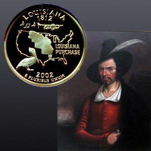 Louisiana State Quarter Coin