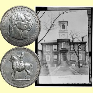 Lafayette Commemorative Silver Dollar Coin