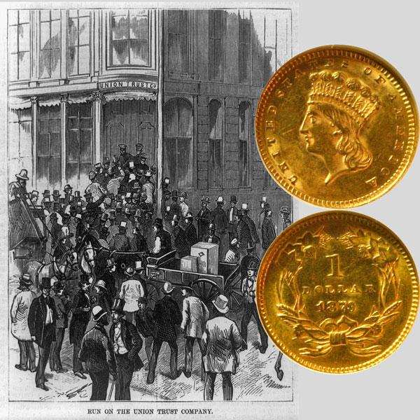 Gold One Dollar Coin