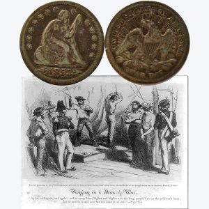 Seated Liberty Silver Quarter Coin