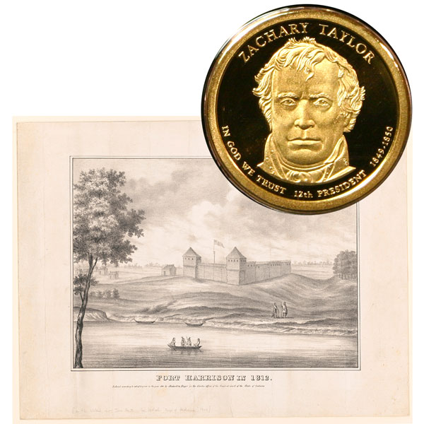 Zachary Taylor Presidential One Dollar Coin