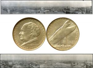 Bridgeport Commemorative Silver Half Dollar Coin
