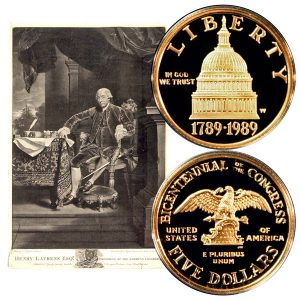 Congress Commemorative Gold Five-Dollar Coin
