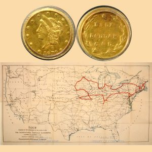 Gold Fifty-Cent Coin