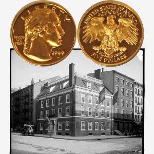 George Washington Gold Five-Dollar Coin