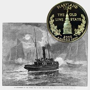 Maryland State Quarter Coin
