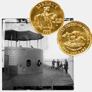 Civil War Battlefield Commemorative Gold Five-Dollar Coin
