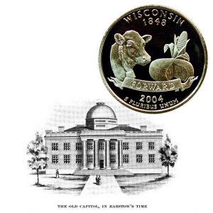 Wisconsin State Quarter Coin