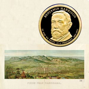 Benjamin Harrison Presidential Dollar Coin