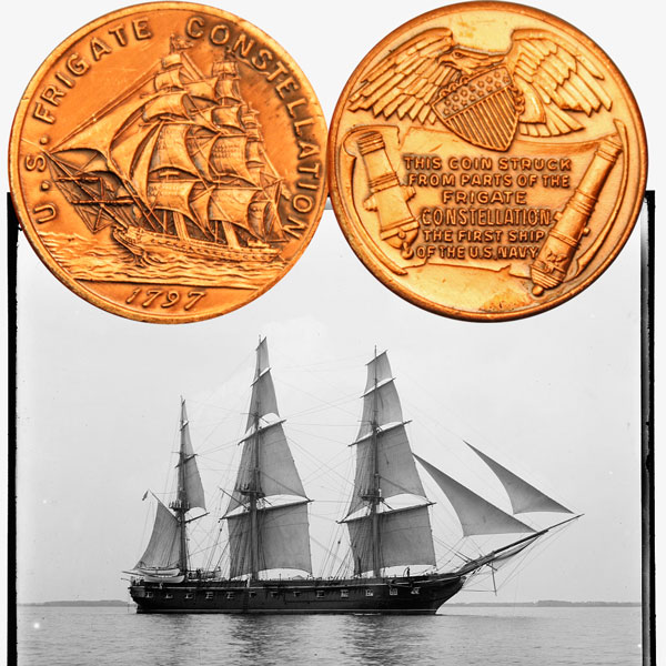 USS Constellation Medal