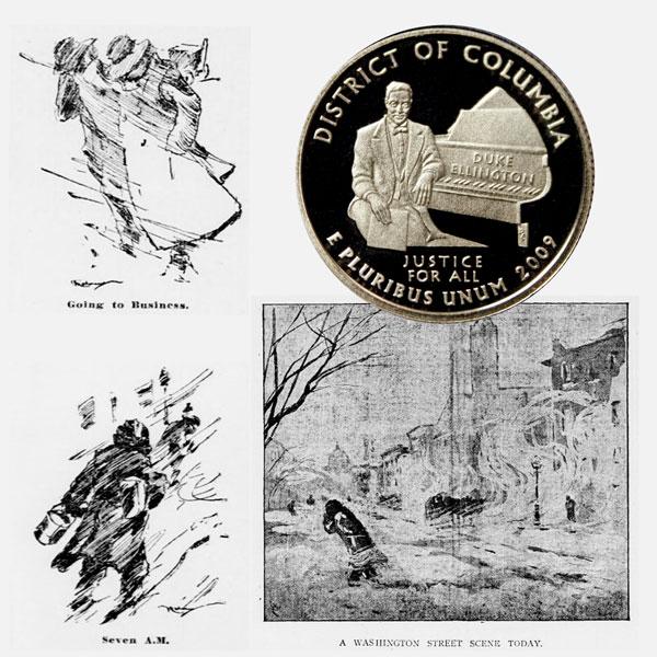 Washington DC Quarter Coin