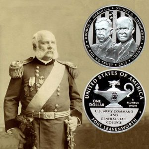 Five-Star Generals Commemorative Silver Dollar Coin