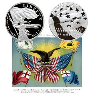 Star Spangled Banner Commemorative Silver Dollar Coin