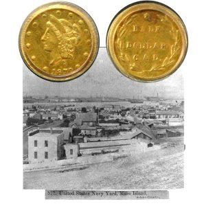 Gold Half Dollar Coin